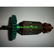 Якорь для электролобзика Фиолент ПМ3-600Э; ПМ3-650Э ( L-140 / 32, 5 - ЗУБОВ )