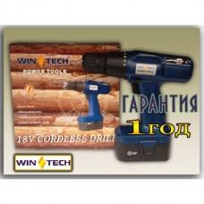 Шуруповёрт аккумуляторный WIN-TECH WCD-18