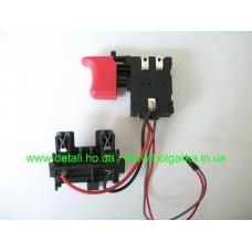 Кнопка для аккумуляторного шуруповёрта DWT ABS-12С/14.4С/18С