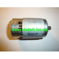 Двигатель для шуруповёрта ПРОТОН ДА-1/18-А (диаметр шестерёнки - 8 мм, 9 зубов) 18 В