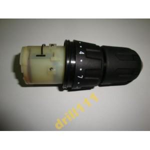Редуктор в сборе с патроном для литиевого двухскоростного шуруповёрта DWT ABS-10.8 LI
