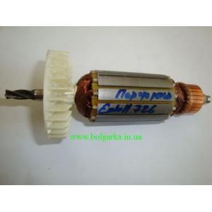 Якорь для перфоратора EINHELL 726 (горизонтальный L-163/ 37 - 4 зуба)