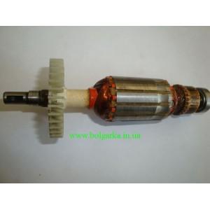 Якорь для болгарки ПРОТОН 125/ 750 Вт  (L- 152 / 32mm)