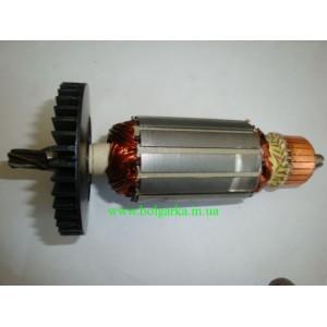 Якорь для перфоратора ТЕМП П-1550 Вт (L167/42 - 5 зубов)