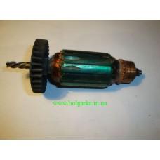 Якорь для электролобзика Klauss K-1504 ( 4 зуба, L148/ 38)