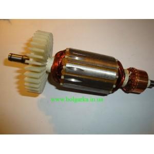 Якорь (ротор) для УШМ болгарки Craft 180 - 1900 (new).L-174/ 44 mm
